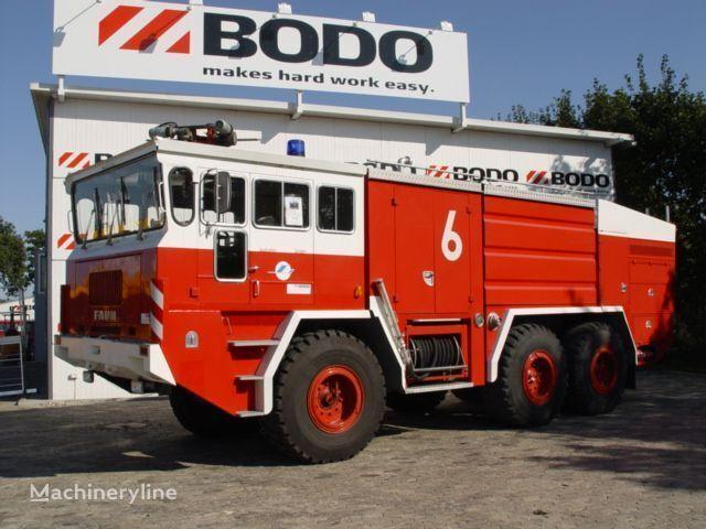 FAUN 6x6 camión de bomberos para aeropuerto