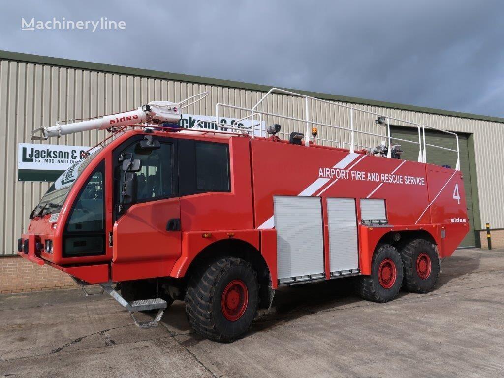 SIDES VMA 112 6x6 Airport Crash Tender camión de bomberos para aeropuerto