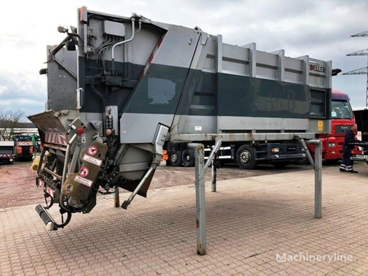 Zoeller Müllaufbau Mini 11 mit Zöller MGHK 249 carrocería para camión de basura