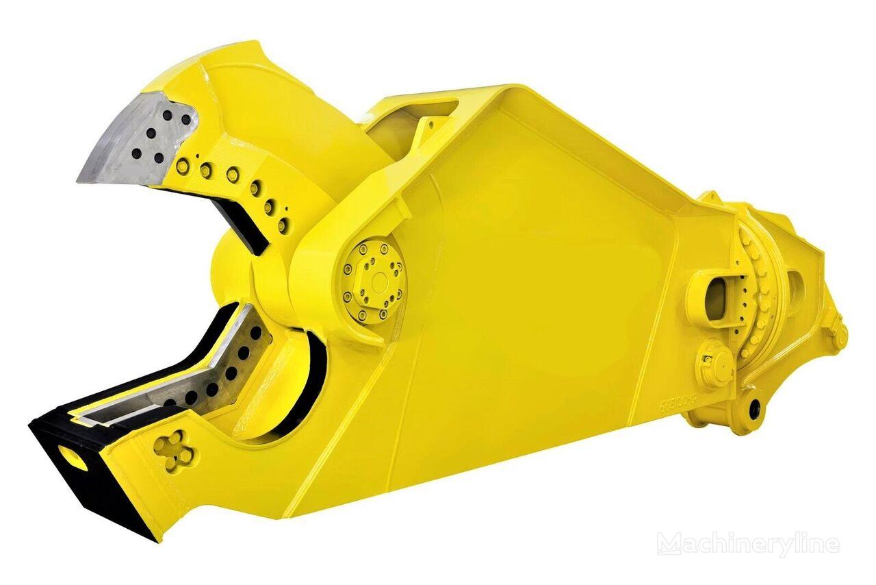 AL MAHAD ENGINEERING Hydraulic Steel Shear 360° Rotating for 45-60 Ton Excavators cizalla de demolición nueva