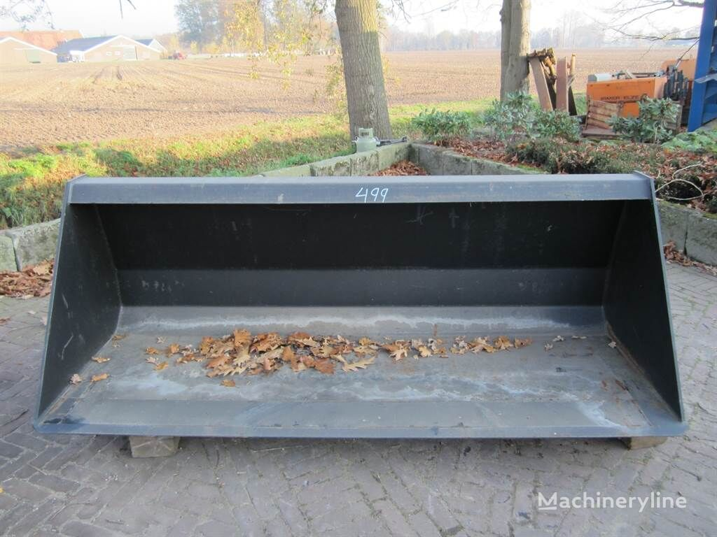 ONBEKEND Dichte bak 2,20 mtr - Bucket/Schaufel cuchara frontal nueva