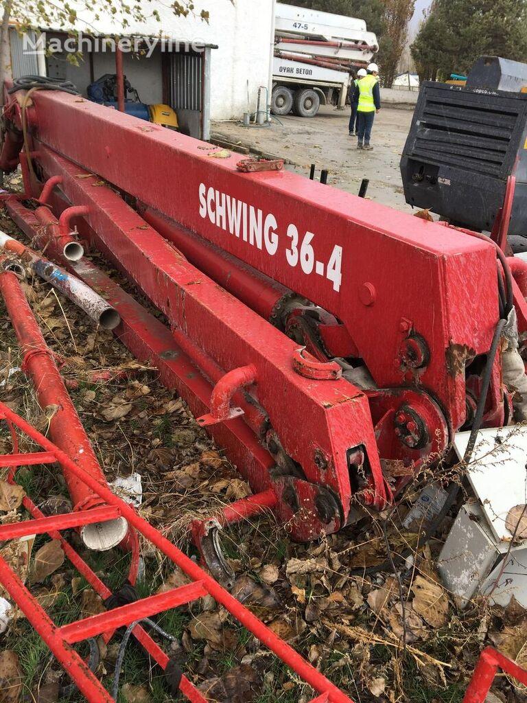 SCHWING 36M R BOOM ONLY BOOM FOR SALE  auge de colocación del concreto