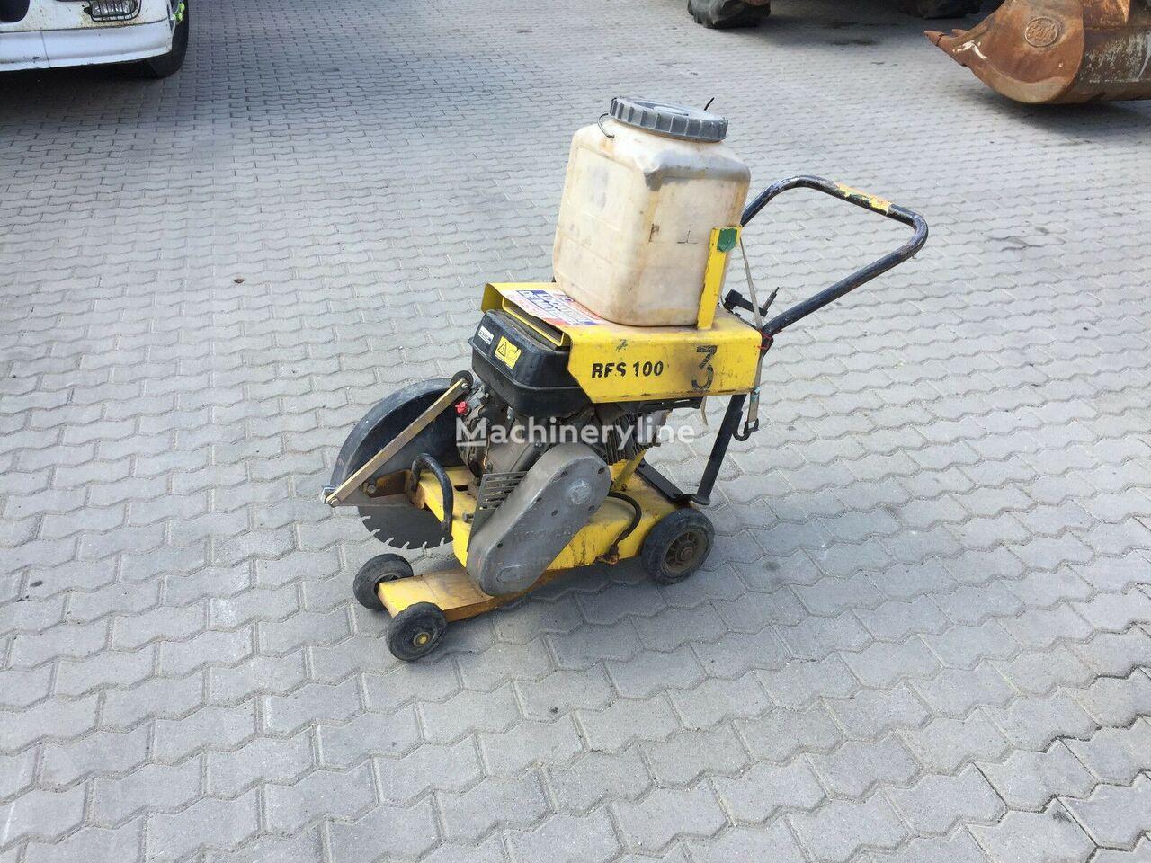 WACKER BFS 100 Asphaltsäge cortadora de asfalto