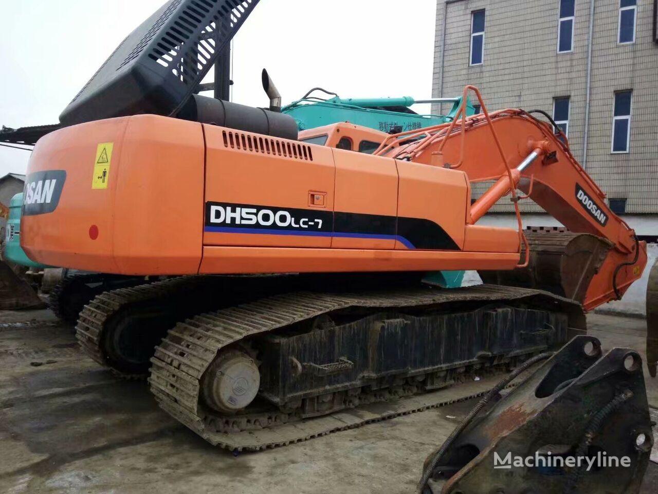 DOOSAN DH500 excavadora de cadenas