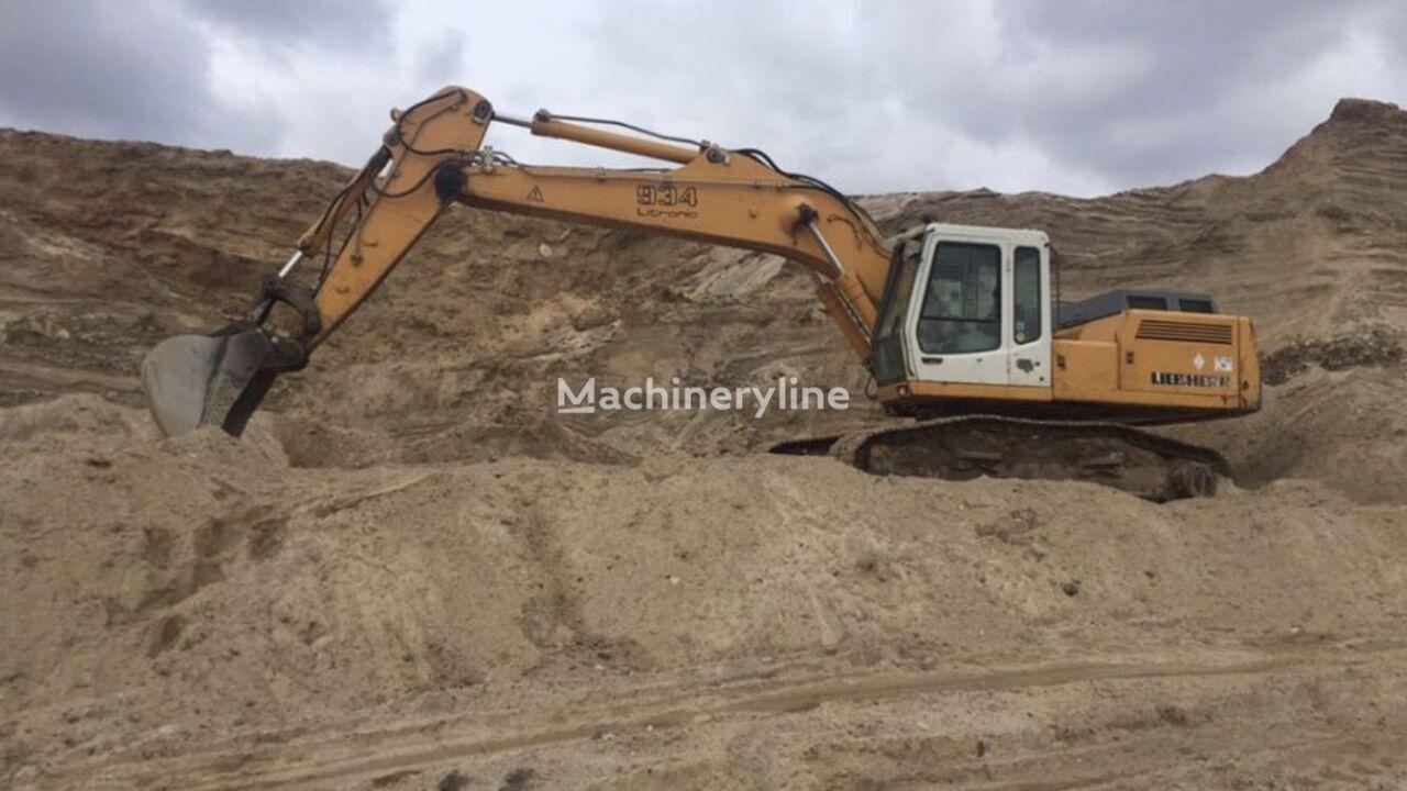 LIEBHERR R934 excavadora de cadenas