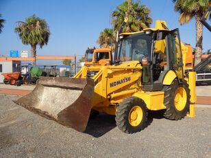 KOMATSU WB93R-5 4X4 EXCAVADORA  excavadora de ruedas