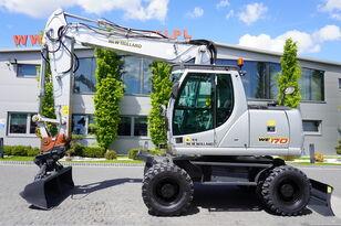 NEW HOLLAND WE 170 C , 18t , TRIPPLE ARM , quick coupler , tilting bucket ,  excavadora de ruedas
