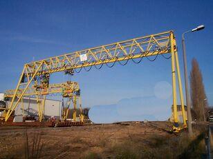 Gantry crane 28m span grúa pórtico