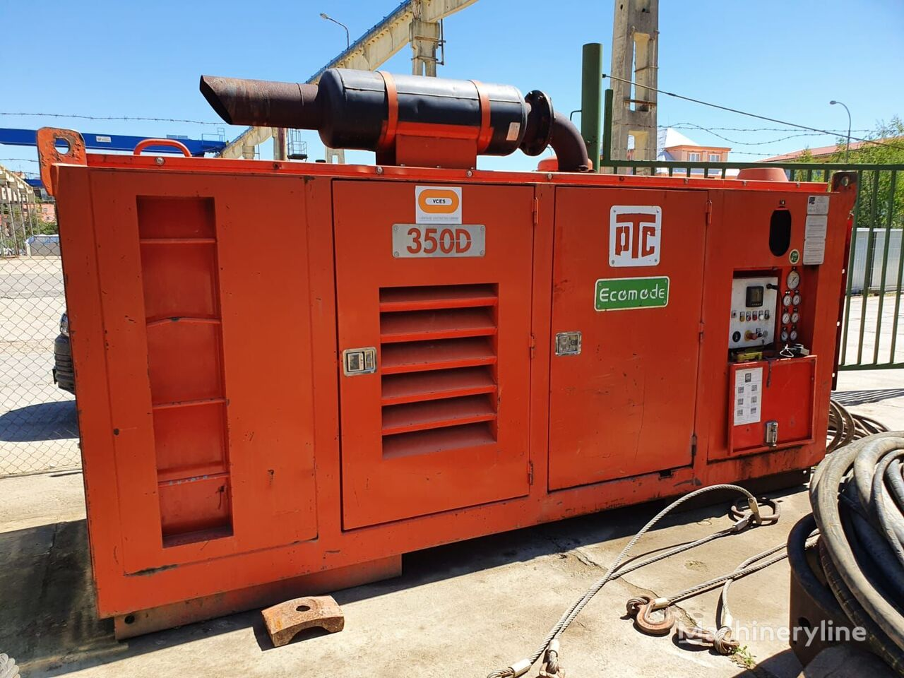 PTC 16 HFV máquina de perforación