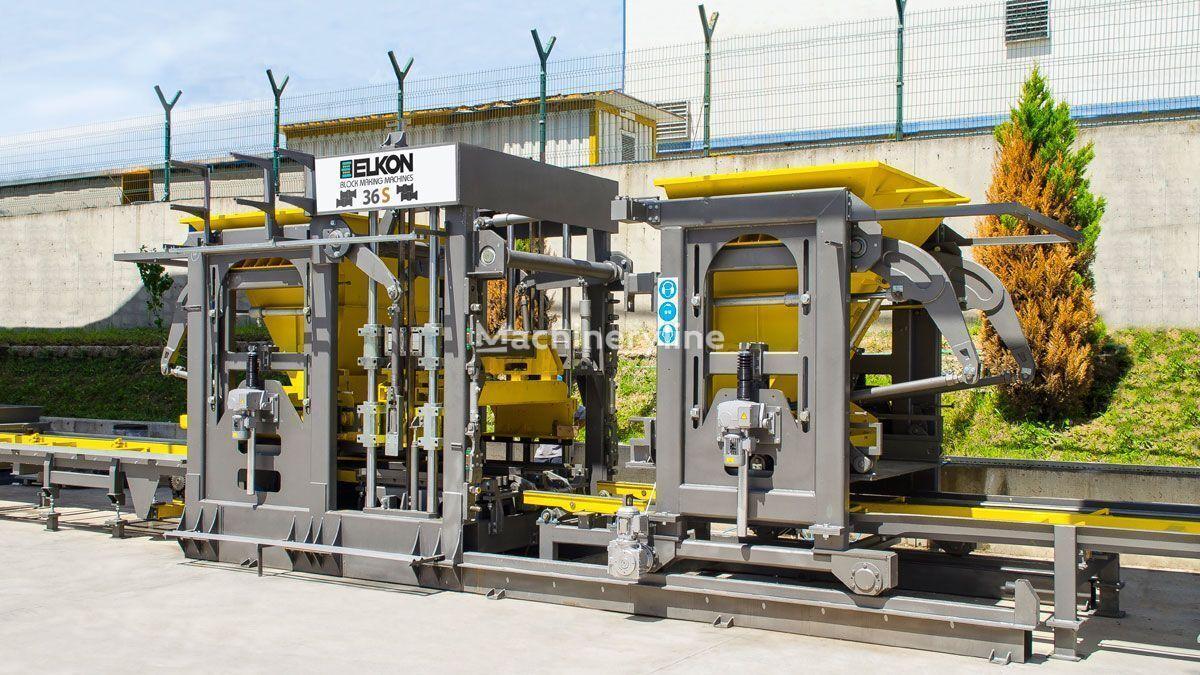ELKON ELKOBLOCK-36S máquina para fabricar bloques de hormigón nueva