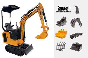 BERGER KRAUS Mini Excavator BK800B with FULL equipment miniexcavadora nueva