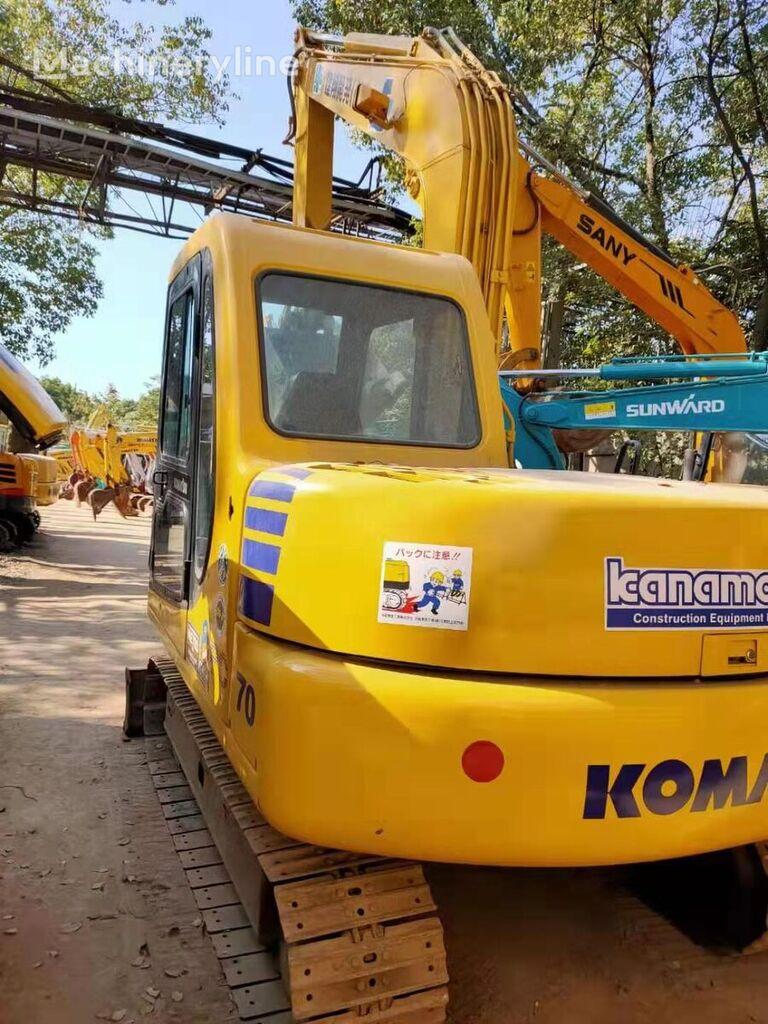 KOMATSU pc70 miniexcavadora