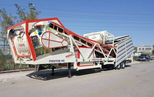 MESAS 100 m3/h MOBILE Concrete Batchıng Plant planta de hormigón nueva
