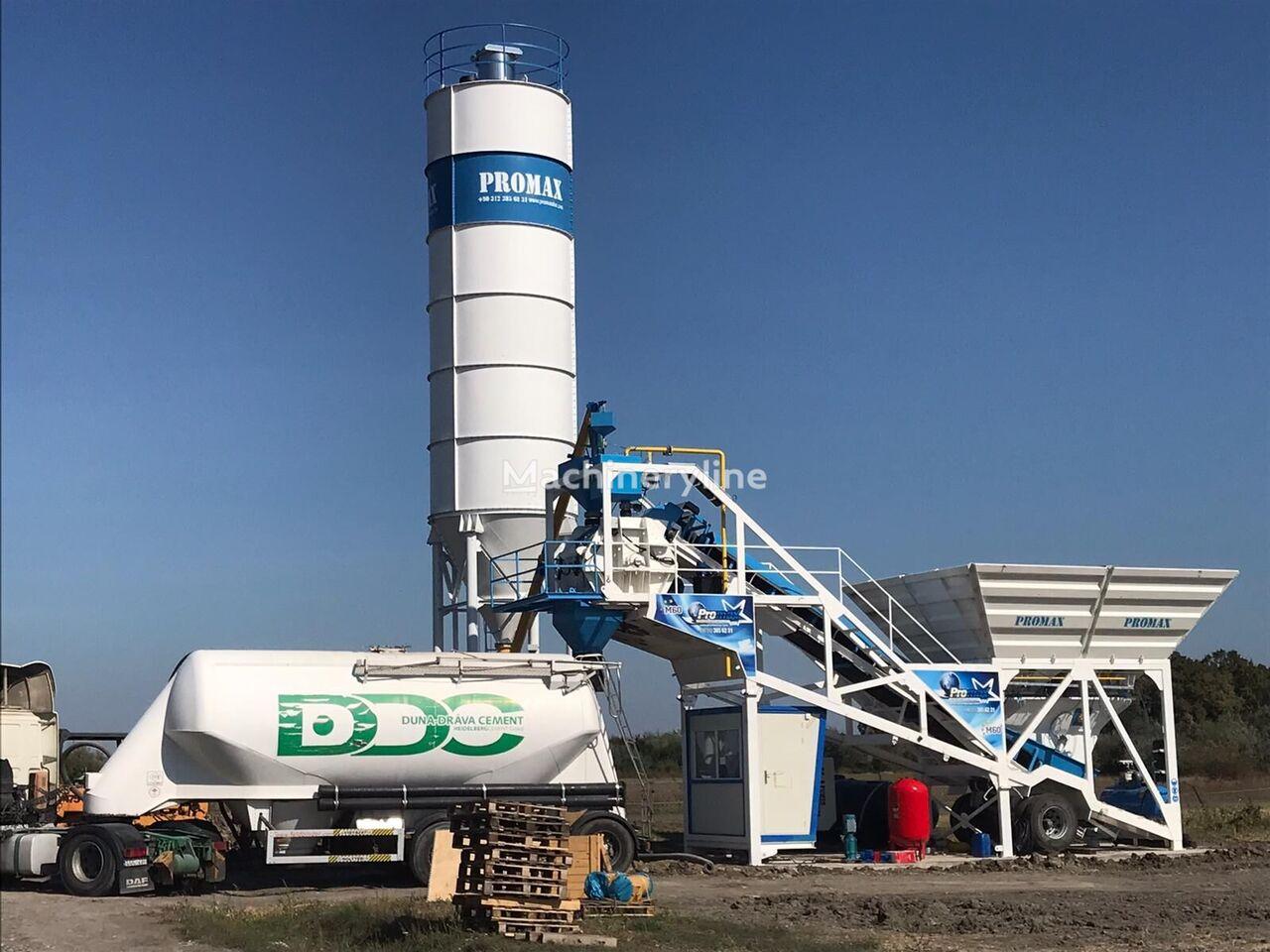 PROMAX Mobile Concrete Batching Plant M60-SNG (60m3/h) planta de hormigón nueva