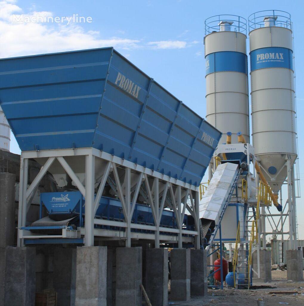 PROMAX KOMPAKTNYY BETONNYY ZAVOD C100 TWN-L (100m³/ch)    planta de hormigón nueva