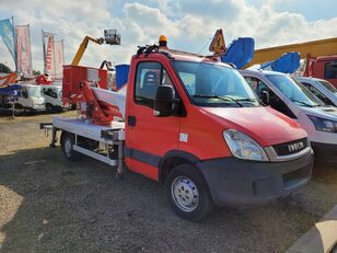 IVECO Daily 17 m Multitel MX170 plataforma sobre camión