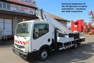 NISSAN Cabstar - 22 m Multitel MT222AZ plataforma sobre camión