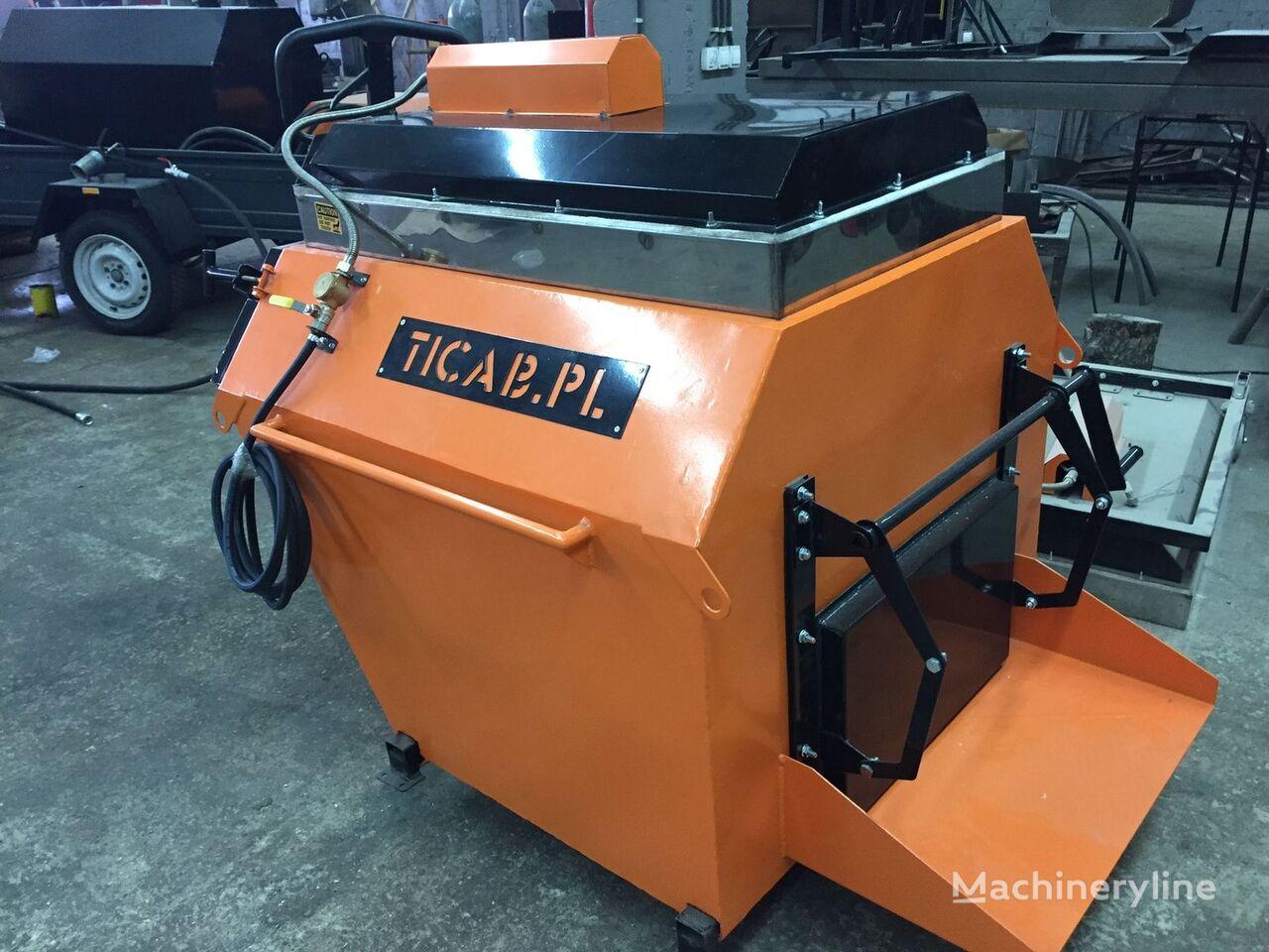 TICAB Asphalt Recycler recicladora de asfalto nueva