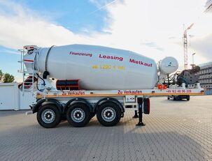 SCHWARZMÜLLER TTC-Fulda Betonmischer Auflieger mit Motor  NEU semirremolque hormigonera