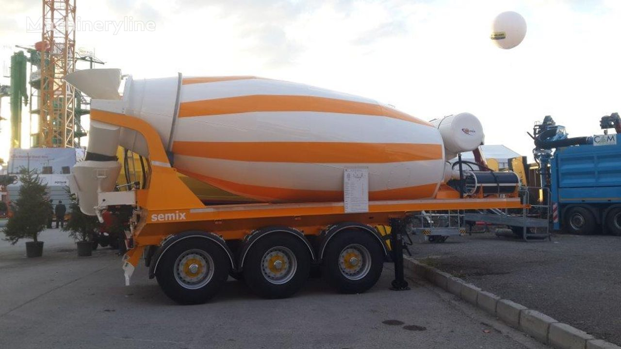 SEMIX 12 m³ Semi Trailer Concrete Mixer semirremolque hormigonera nuevo