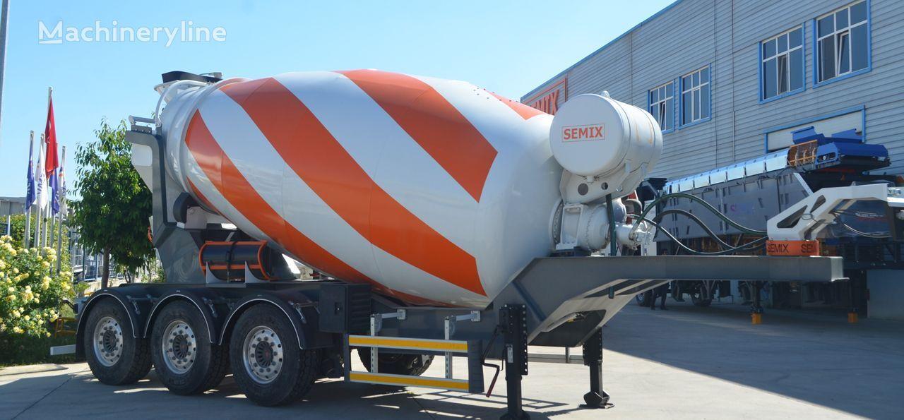 SEMIX Concrete Mixer semirremolque hormigonera nuevo