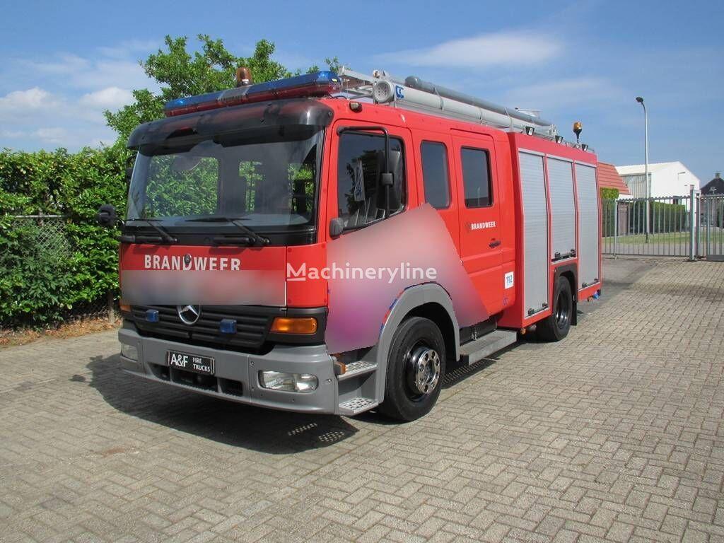 MERCEDES-BENZ Atego C&C Firetruck camión de bomberos