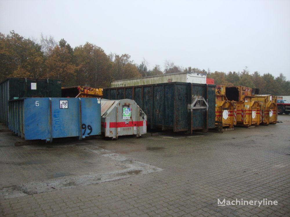 Diverse Container ca. 30 stk contenedor compactador