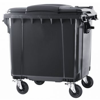 1100 l contenedor de basura nuevo