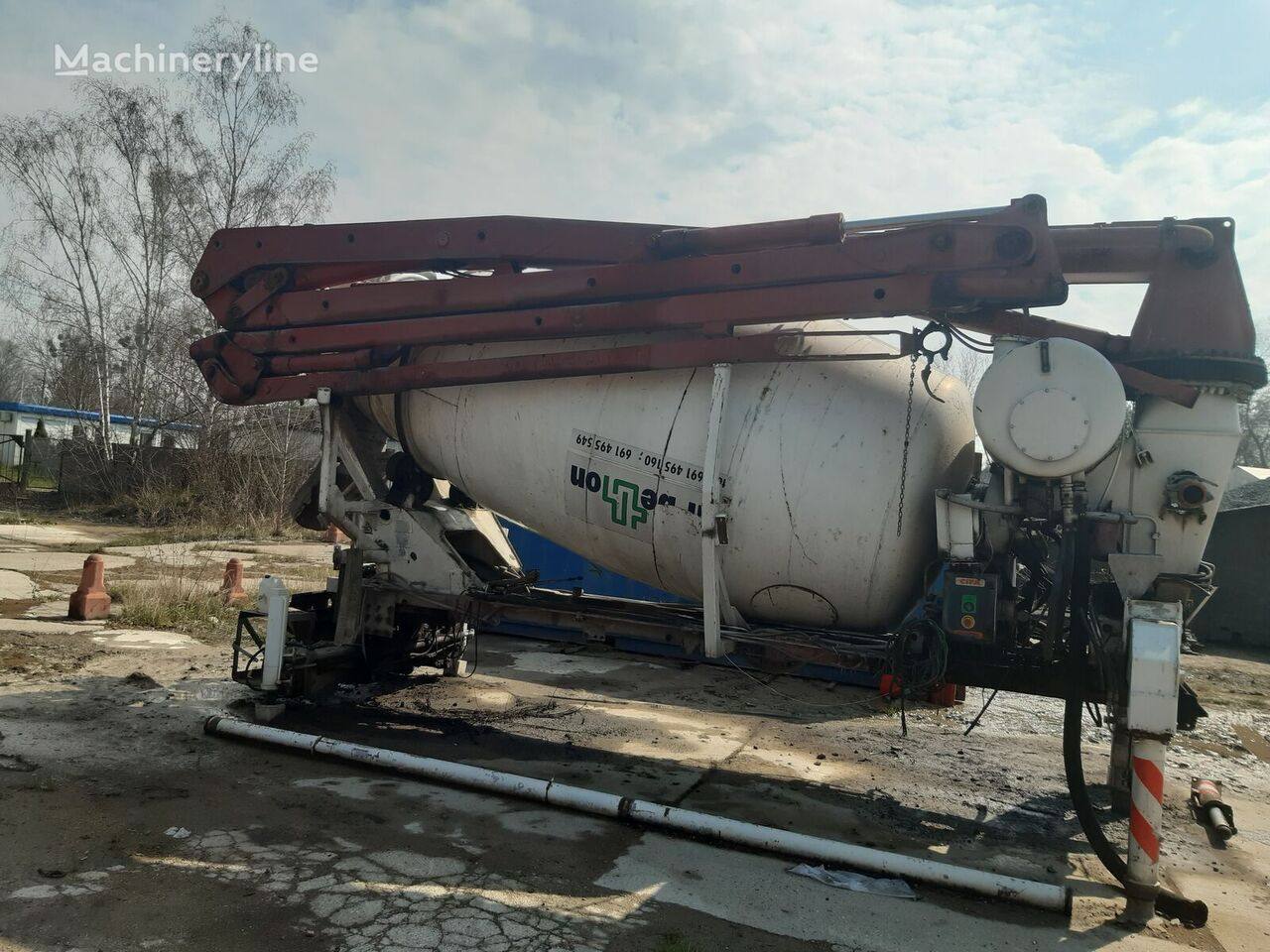 pompogruszka cifa 28 recambios para CIFA cifa bomba de hormigón
