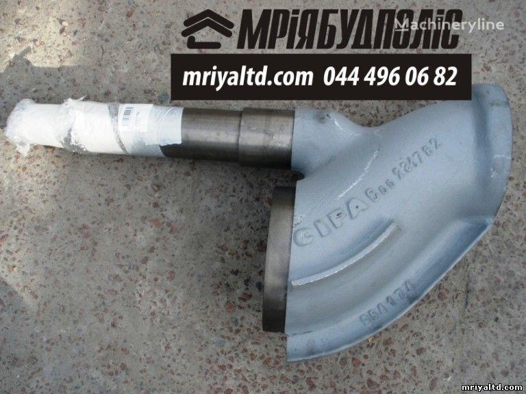 S-Klapan (S-Valve) Shiber dlya betononasosa recambios para CIFA bomba de hormigón