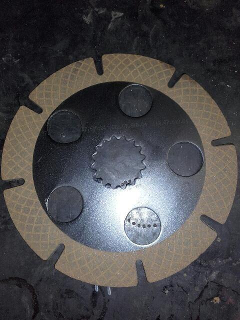 TARCZA CIERNA / BRAKE DISC 734.07.610.02 Dana (734.07.610.02) recambios para otra maquinaria de construcción