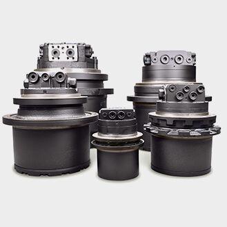 HITACHI EX30 transmisión final para HITACHI Hitachi EX30, Hitachi EX30-2, Hitachi EX30-U, Hitachi EX30-UR, Hitachi EX30-UR-2, Hitachi EX30-UR-3 miniexcavadora nueva